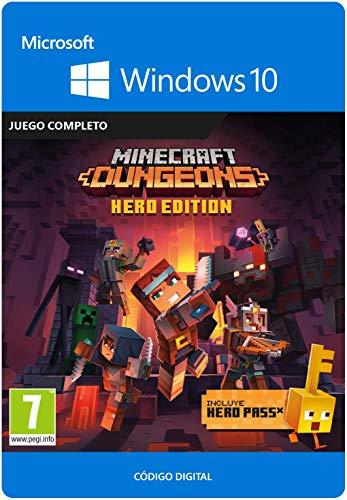 Minecraft Dungeons: Hero Edition | Windows 10 PC - Código