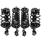 AUTOSAVER88 Complete Struts Front and Rear Coil Spring Assembly Compatible with 2002 2003 Lexus...