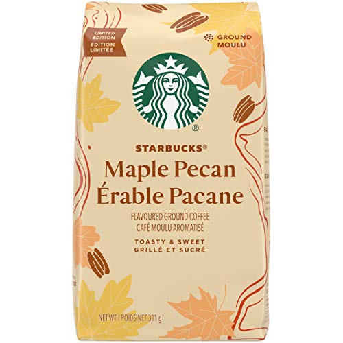 Starbucks Flavored Ground Coffee — Maple Pecan — 100% Arabica — 6 bags (11 oz ea)