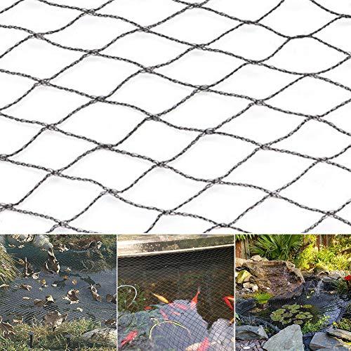 AmandaJ Teichnetz Teichnetz Laubabdeckung Netz mit Heringen Schwimmbad Netz, nicht null, Wie abgebildet, 2 x 3 m