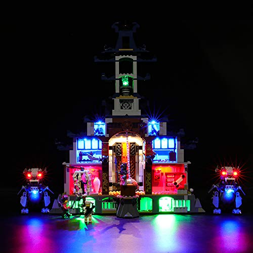 BRIKSMAX Led Beleuchtungsset für Lego NINJAGO Temple Ultimate Weapon,Kompatibel Mit Lego 70617 Bausteinen Modell - Ohne Lego Set