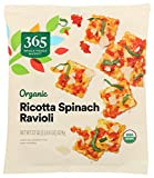 365 by Whole Foods Market, Frozen Organic Ravioli, Ricotta Spinach, 22 Ounce