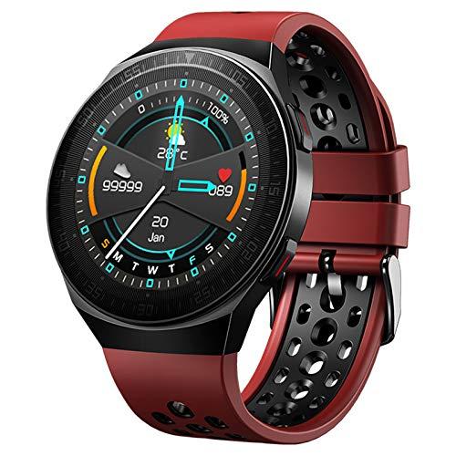 ZGNB 2021 Nuevo MT3 Smart Watch Bluetooth Sports Watch IP67 Waterproof Watch Men's Alood's Passion Passion Fitness Tracker Smart Watch (para iOS Android),B