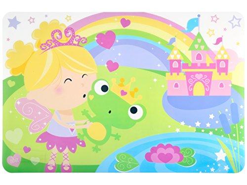 Lulabi 4954 Fairy Tales placemat, kunststof, 45 x 30 cm, meerkleurig