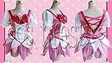 371 【cos-presure】ハートキャッチプリキュア! キュアブロッサム 風衣装◆コスプレ