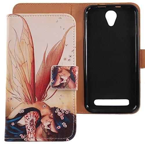 Lankashi PU Flip Leder Tasche Hülle Hülle Cover Schutz Handy Etui Skin Für Acer Liquid Z6 5