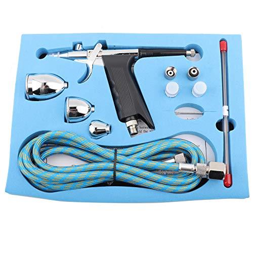 Pistola pulverizadora de pintura 166 AK Trigger Aerógrafo Gravity Spray Gravity Spray Gun Multiuso para pintura artística