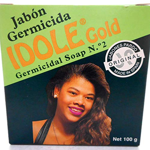 Idole Exfoliating Soap - Gold 3.5 oz.
