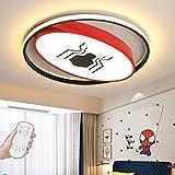Plafonnier LED Batman Lampe De Plafond Dimmable Pour Enfants Creative Spiderman...