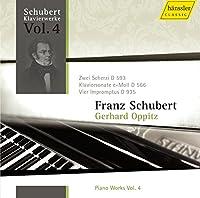 シューベルト:ピアノ作品集Vol.4 (Schubert Piano Works Vol.4/Gerhard Oppitz)