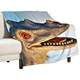 Blanket/Bed Blanket,Super Soft and Light,Comfortable Close to The Skin,Suitable for All Seasons,70  ×80  ,Color for Dinosaur Tyrannosaurus Troodon Pachycephalosaurus,Used for Bed Quilt