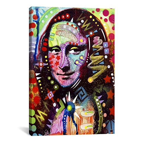 iCanvasART Mona Lisa by Dean Russo Canvas Print #13532 – 18