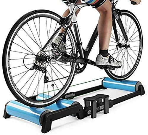 YZPJSQ Entraîneur vélo Portable Rouleaux - intérieur Accueil Vélo vélo Formation Support VTT Entraîneur Station d'entraînement Vélo Route Roller Vélo Résistance Machine d'exercice de Remise en Forme