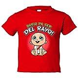 Camiseta niño nacido para ser del Rayo Vallecano fútbol - Rojo, 12-18 meses