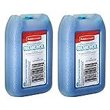 Rubbermaid - Blue Ice Mini Pack, Reusable, 1026-TL-220, 8 OZ (2 Pack)