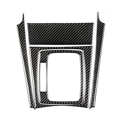 CCHAO Cubierta de la Cubierta del Panel de la Fibra de Carbono del Cambio de Carga del Coche Fit para Mercedes Benz W204 C Class 2007 2009 2010 2011 2012 2012 2012 2013