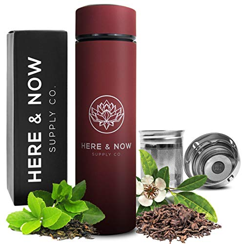 Multi-Purpose Travel Mug and Tumbler | Tea Infuser Water Bottle