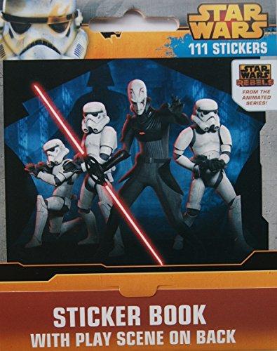 Star Wars Sticker Book - 111 Count