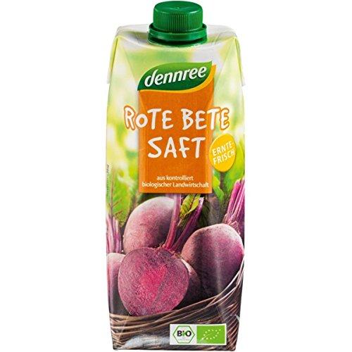dennree Rote-Bete-Saft (500 ml) - Bio