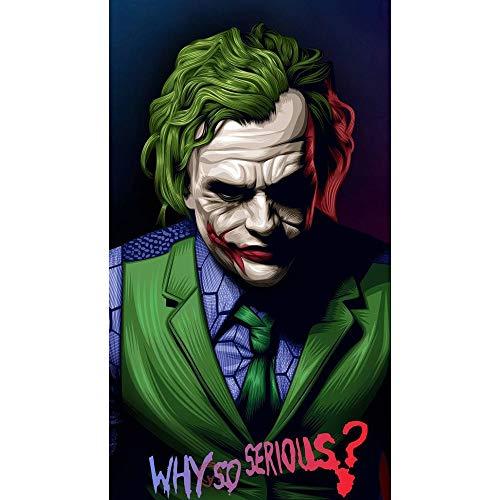 IHlXH JokerJoaquin Phoenix Heath Hauptbuch DC Film ComicsWandkunstGemälde Druck auf Leinwand Poster Bilder Home Deco 1 60X80cm No Framed