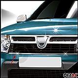 Grille de calandre - Baguette chromée en inox for Duster Facelift II 2013- 2020