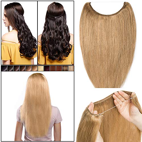 Extensiones Pelo Hilo Invisible [ Adjustable & Invisible
