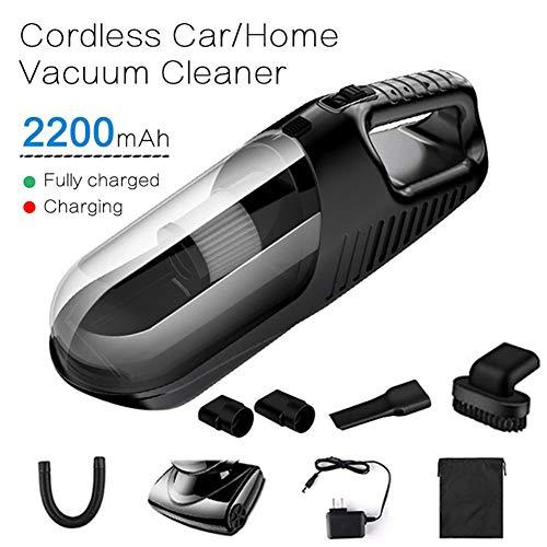 DJG 120W Auto Wireless schnurlose Handstaubsauger Kehrmaschine Leichte, tragbare Nass- / Trocken-Auto-Staubsauger Hauptreinigung