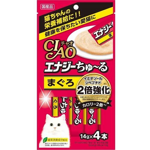 CIAO エナジーちゅ~る まぐろ (14g×4本)×6コ