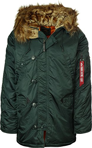 Alpha Industries Giacca Invernale Polar Jacket Dark Petrol