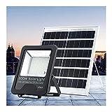 XEX 82-665 LED Proyector Solares Exteriores, Foco Solar LED Superbrillantes 50-500W con Mando Cables 5m, Luz De...
