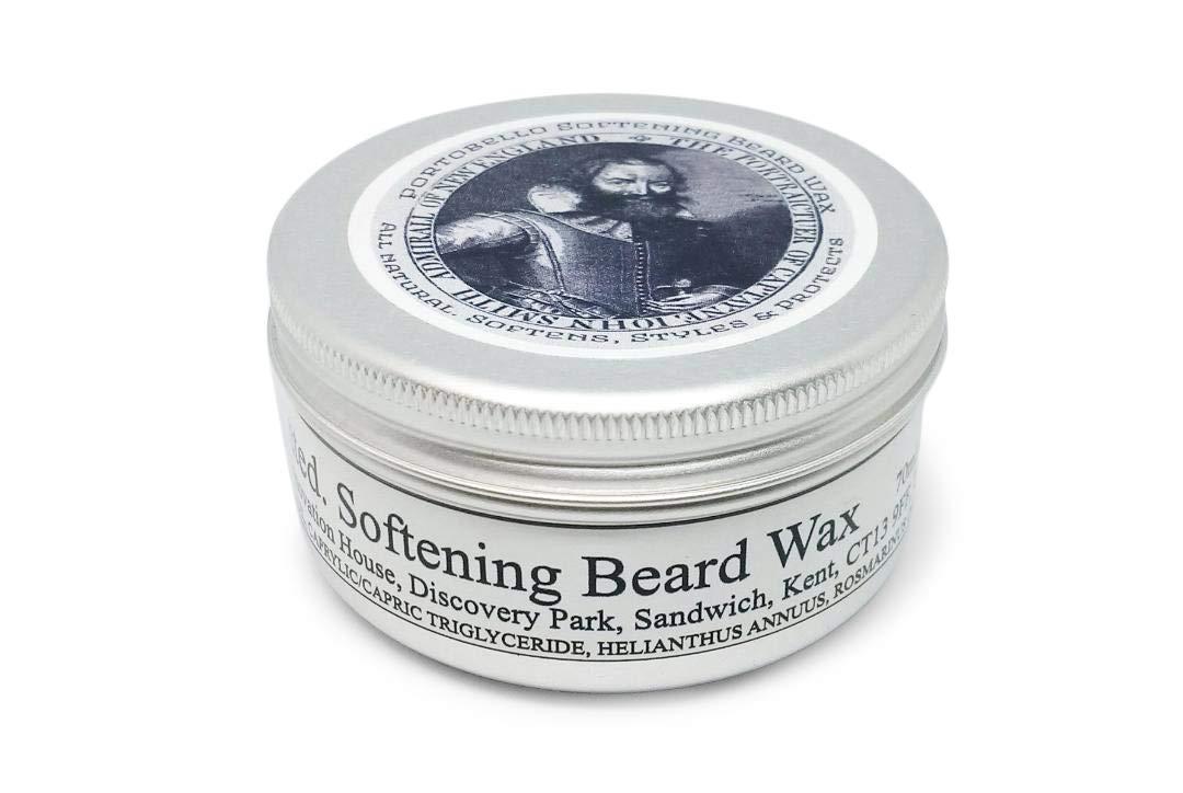 Los Angeles Cheap sale Mall Beard Wax. Portobello Softening Wax Handmade in Natural