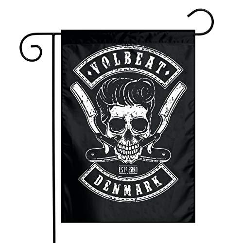 WU4FAAR Volbeat 30,5 x 45,7 cm Floral Garten Hof Flagge Banner für Zuhause Deko Haus Hof Schild, Volbeat, 12