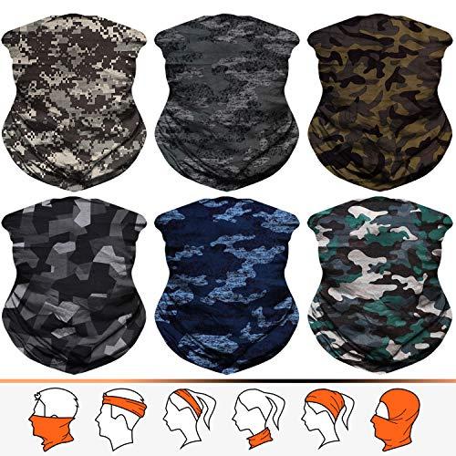 JOEYOUNG Headwear, Bandana, Neck Gaiter Head Wrap Headband Balaclava Magic Scarf