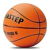 Vigoureux Mini-Basket Chastep 13.5 cm Balle en Mousse Doux et Plein d'entrain Non-Toxique Sûr de Jouer pour Les Cadeaux d'enfants(Orange, Orange)