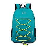 CLEVER BEES Backpack Foldable Ultra Lightweight Outdoor Water Resistant Hiking Backpack for Travel,...