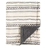Hudson Baby Double Layer Blanket, Aztec, One Size