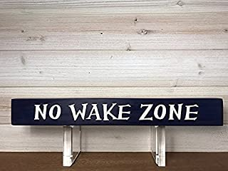 All Seasons No Wake Zone Sign