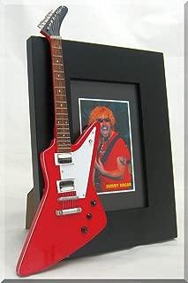 IZZI Sammy Hagar Miniature Guitar Photo Frame Gibson Explorer