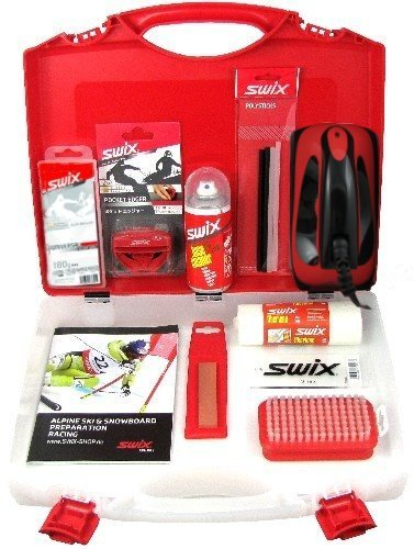 SWIX Komplett-Set RED-Box - Alpin - 11-teilig mit Koffer
