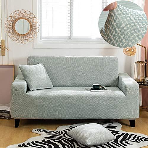 WXQY Pet Ecksofa Schutzhülle elastische Wohnzimmer Sofabezug geometrische Muster rutschfeste Sofa Schutzhülle A12 1-Sitzer