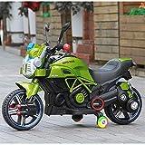 BJYG Nuevo Coche eléctrico para niños Motocicleta Triciclo Los niños Pueden...