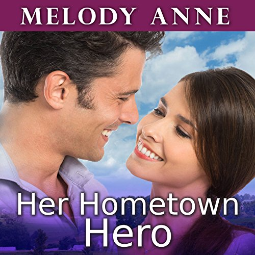 Her Hometown Hero audiobook cover art