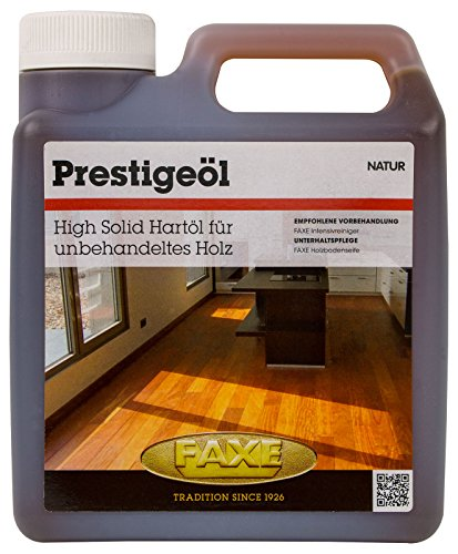 Faxe Prestigeöl natur 1L Öl Holzbodenöl Fußboden Boden Holz Öl