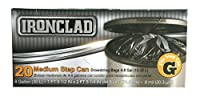 Ironclad Drawstring Medium Step Can Trash Bags (8 Gal/30L) Size G, 20 Count by Ironclad