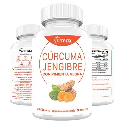 Curcuma Walmart marca LIFEMAX