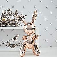 彫刻像の装飾バルーンウサギの彫刻家の装飾アートとクラフトガーデンの装飾創造的な像