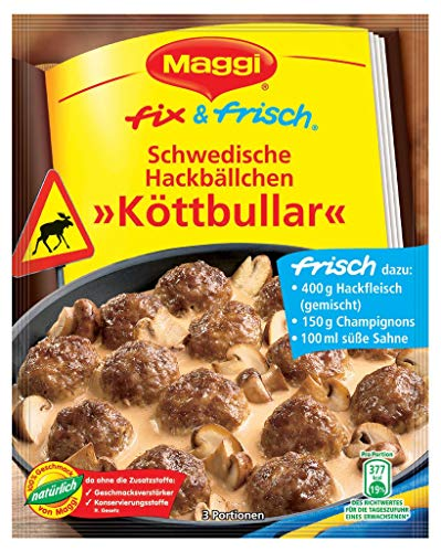 Maggi Fix - 'Köttbullar' schwedische Hackbällchen - 34g