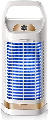 WQQTT Lampe Moustique Mosquito Killer, artefact Anti-Moustique Mosquito Killer muet no Radiation Accueil piège à moustiques électrique dans la Chambre Anti-Moustique portable (Couleur   blanc)