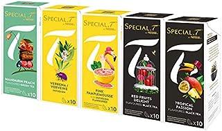 Special.T – Früchtetee Mix – Fruchttees 5 Sorten à 10 Kapseln