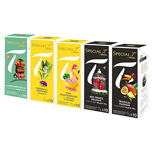 test Special.T-Fruit Infusion Mix-Fruit Infusion (5 Sorten, 10 Kapseln) Deutschland